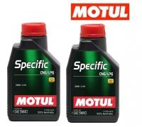 OLIO MOTUL SPECIFIC CNG/LPG 5W40 LT1